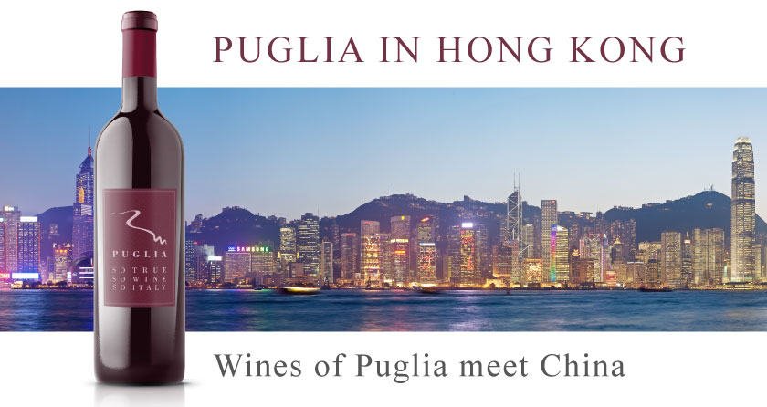 Wines of Puglia in Hong Kong
